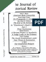 TheJournalOfHistoricalReviewVolume10 Number 2 1990