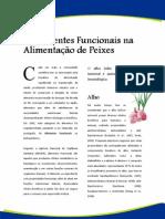 Artigos - Alimentos Funcionais na Prevenção de Doenças em Peixes