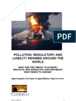Pollution - Regulatory and Liability Regimes Around the World