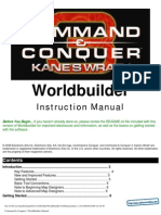 Command and Conquer 3 - Kanes Wrath - Worldbuilder Manual - PC