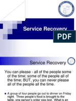 Services Recovery