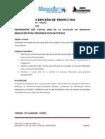 Documentacion de Proyectos Alcaldia de Maracaibo - Decanato Fing Ujgh 06032012