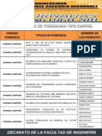 II Jornadas Fing 2011-1