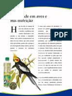 Artigos - Obesidade em Aves