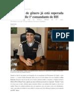 Primeira Comandante de Policiamento Da Capital Mineira