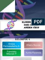 Kelompok 4 - Strategi Kloning Apoptin dengan Plasmid pUC19 pada E.coli BL21(DE3).pptx