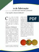 Artigos - Processos de Fabricação de Rações