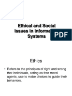Ethical Issues in MIS