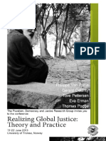 Realizing Global Justice - Theory and Practice
