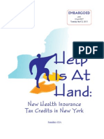 Health Insurance tax credit's under Obamacare