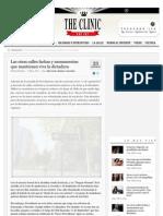 Las Otras Calles Fachas y Monumentos Que Mantienen Viva La Dictadura. Art. Www-Theclinic-cl