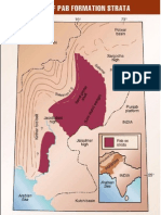 map Distribution of Pab Formation