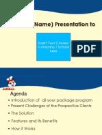NKAG SML Presentation Sample Template