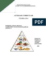Auxiliar Curricular - Coman M - Pregatirea Si Conservarea Cerealelor Pt Macinis Cls X