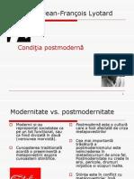 Lyotard - Conditia Postmoderna