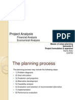 Project Analysis- Financial & economical