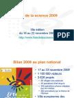 Présentation de la Fête de la science 2009 en Poitou-Charentes, France