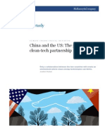 China and the US the Potential of a Clean-tech Partnership