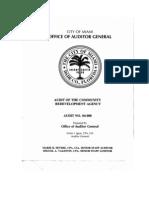 CRA Audit Report