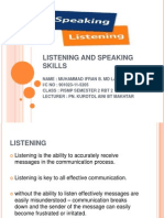 Listening and Speaking Skills File
