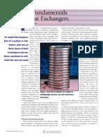 The Fundamentals of Heat Exchangers