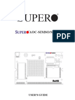 Supermicro AOC Simso+ IPMI User and Configuration Manual