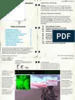 Delta Force - Manual Addendum - PC