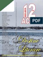 Destine Literare March 2013