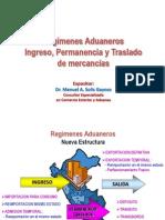 REGIMENES ADUANEROS 2013 temporales 2013.pptx