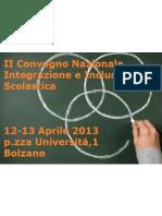 Workshop Programma Definitivo II Convegno Integrazione e Inclusione Scolastica