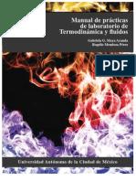 Manual de Practicas de Laboratorio de Termodinamica y Fluidos