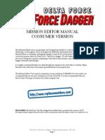 Delta Force 4 - Task Force Dagger - Mission Editor Manual - PC