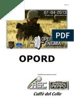 Operazione Enigma Opord