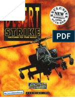 Desert Strike - Manual - PC