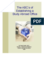 ABC's of a Study Abroad Office