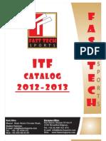 Itf Fast Tech Sports Catalog