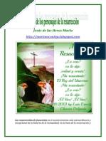 DECÁLOGO DE LOS PERSONAJES DE LA RESURRECCIÓN