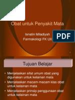 Obat Untuk Penyakit Mata 2012-2013