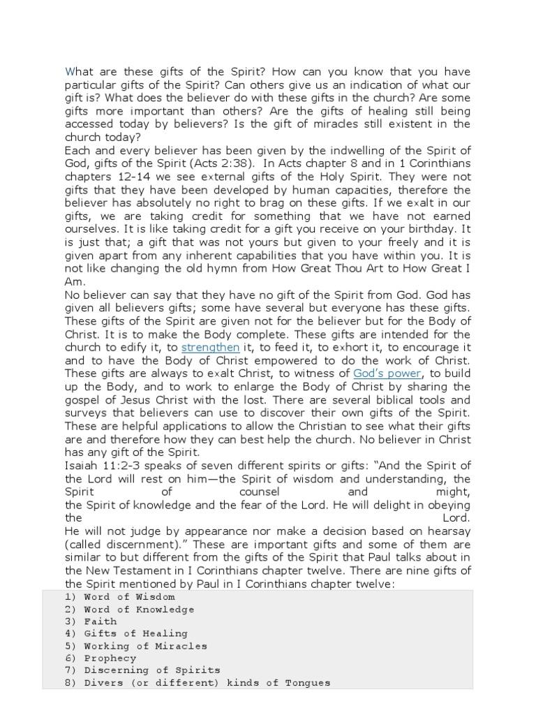 English thesis statement