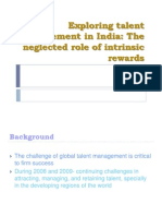 Exploring talent management in India