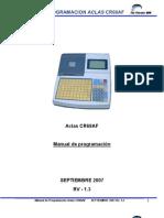 Manual de Programacion CAJA REGISTRADORA