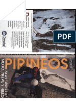 Ascensiones Pirineos. Hielo, Nieve y Mixto