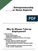 51724209 Women Entrepreneurship in India