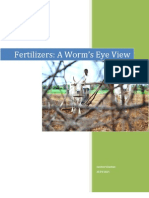 Fertilizers - A Worms Eye View