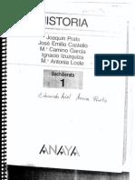 Historia Bachillerato 1 Indice - Helade
