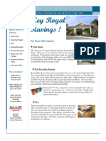 Key Royal Newsletter - March 2009