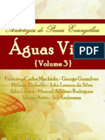 Aguas Vivas 3 Antologia de Poesia Evangelica