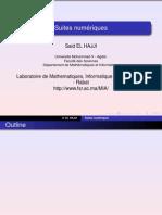 Analyse 1Suites Numeriques