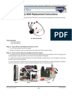 Model 9000 Air valve replacement instructions