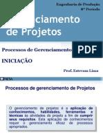 2.1 - Pro - Gerprojetos - Iniciacao